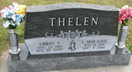 THELEN, L. MARJORIE - Cedar County, Nebraska | L. MARJORIE THELEN - Nebraska Gravestone Photos