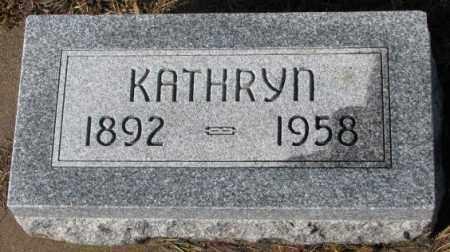 THIELEN, KATHRYN - Cedar County, Nebraska | KATHRYN THIELEN - Nebraska Gravestone Photos