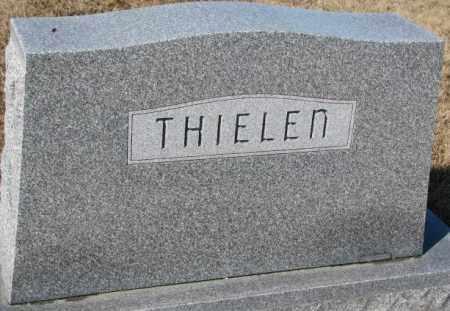 THIELEN, PLOT - Cedar County, Nebraska | PLOT THIELEN - Nebraska Gravestone Photos