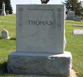 THOMAS, FAMILY - Cedar County, Nebraska   FAMILY THOMAS - Nebraska Gravestone Photos