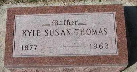 THOMAS, KYLE SUSAN - Cedar County, Nebraska | KYLE SUSAN THOMAS - Nebraska Gravestone Photos
