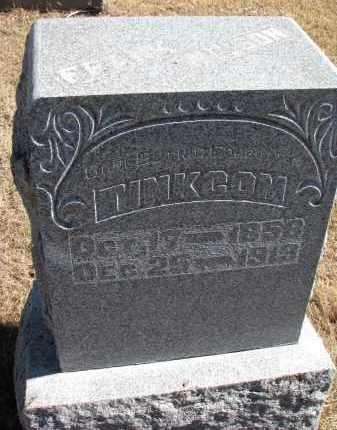 TINKCOM, FRANK - Cedar County, Nebraska | FRANK TINKCOM - Nebraska Gravestone Photos
