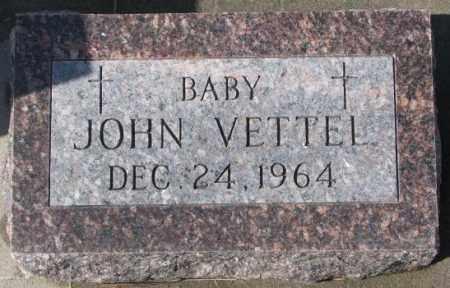 VETTEL, JOHN - Cedar County, Nebraska   JOHN VETTEL - Nebraska Gravestone Photos