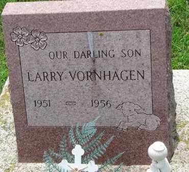 VORNHAGEN, LARRY - Cedar County, Nebraska | LARRY VORNHAGEN - Nebraska Gravestone Photos