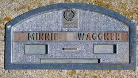 WAGGNER, MINNIE - Cedar County, Nebraska | MINNIE WAGGNER - Nebraska Gravestone Photos