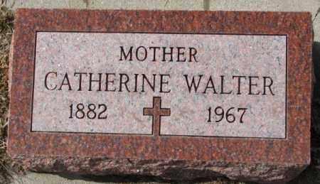 WALTER, CATHERINE - Cedar County, Nebraska | CATHERINE WALTER - Nebraska Gravestone Photos