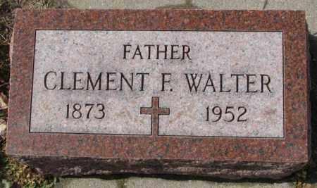 WALTER, CLEMENT F. - Cedar County, Nebraska | CLEMENT F. WALTER - Nebraska Gravestone Photos
