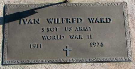 WARD, IVAN WILFRED ( WW II MARKER) - Cedar County, Nebraska | IVAN WILFRED ( WW II MARKER) WARD - Nebraska Gravestone Photos