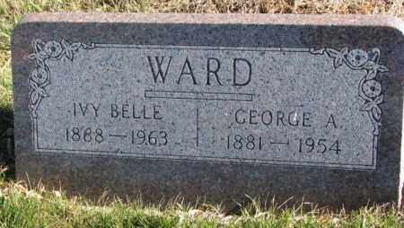 WARD, IVY BELLE - Cedar County, Nebraska | IVY BELLE WARD - Nebraska Gravestone Photos