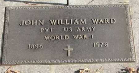 WARD, JOHN WILLIAM - Cedar County, Nebraska | JOHN WILLIAM WARD - Nebraska Gravestone Photos