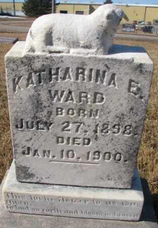 WARD, KATHARINA E. - Cedar County, Nebraska | KATHARINA E. WARD - Nebraska Gravestone Photos
