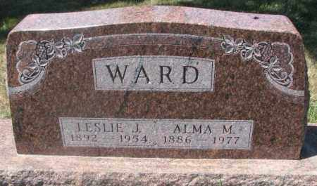 WARD, ALMA M. - Cedar County, Nebraska | ALMA M. WARD - Nebraska Gravestone Photos