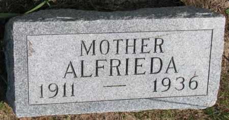 WATTIER, ALFRIEDA - Cedar County, Nebraska | ALFRIEDA WATTIER - Nebraska Gravestone Photos
