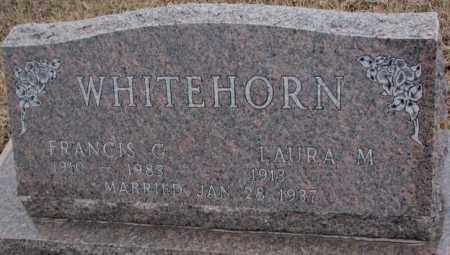 WHITEHORN, FRANCIS G. - Cedar County, Nebraska   FRANCIS G. WHITEHORN - Nebraska Gravestone Photos