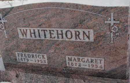 WHITEHORN, MARGARET - Cedar County, Nebraska   MARGARET WHITEHORN - Nebraska Gravestone Photos