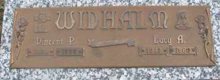 WIDHALM, VINCENT P. - Cedar County, Nebraska   VINCENT P. WIDHALM - Nebraska Gravestone Photos