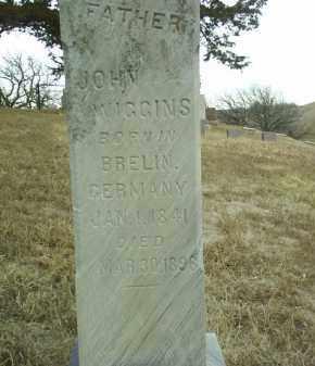 WIGGINS, JOHN - Cedar County, Nebraska | JOHN WIGGINS - Nebraska Gravestone Photos