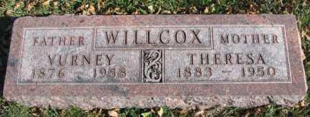 WILLCOX, VURNEY - Cedar County, Nebraska   VURNEY WILLCOX - Nebraska Gravestone Photos