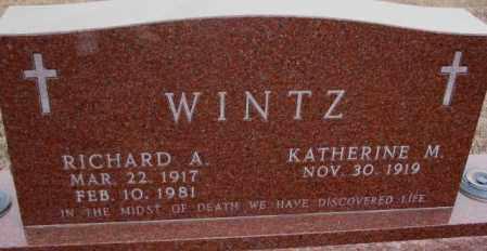 WINTZ, RICHARD A. - Cedar County, Nebraska | RICHARD A. WINTZ - Nebraska Gravestone Photos