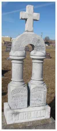 WOHLMAN, VERONICA - Cedar County, Nebraska | VERONICA WOHLMAN - Nebraska Gravestone Photos