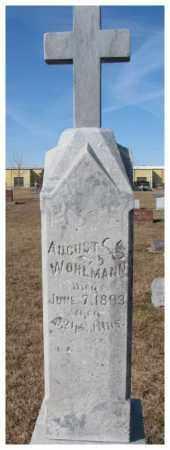 WOHLMANN, AUGUST - Cedar County, Nebraska | AUGUST WOHLMANN - Nebraska Gravestone Photos