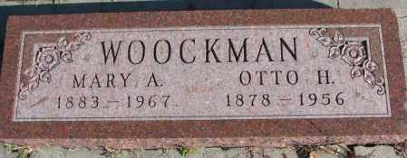 WOOCKMAN, MARY A. - Cedar County, Nebraska   MARY A. WOOCKMAN - Nebraska Gravestone Photos