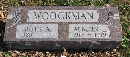 WOOCKMAN, ALBURN L. - Cedar County, Nebraska   ALBURN L. WOOCKMAN - Nebraska Gravestone Photos