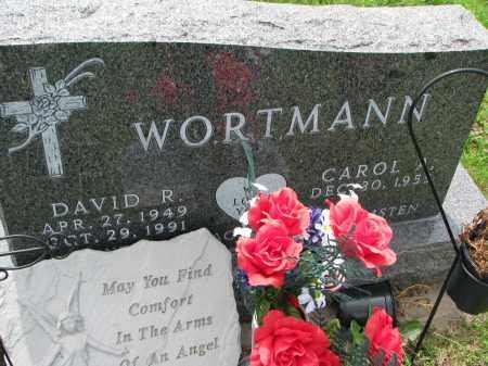 WORTMANN, DAVID R. - Cedar County, Nebraska | DAVID R. WORTMANN - Nebraska Gravestone Photos
