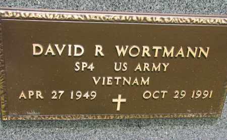 WORTMANN, DAVID R. (MILITARY) - Cedar County, Nebraska | DAVID R. (MILITARY) WORTMANN - Nebraska Gravestone Photos