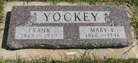 YOCKEY, MARY E. - Cedar County, Nebraska | MARY E. YOCKEY - Nebraska Gravestone Photos