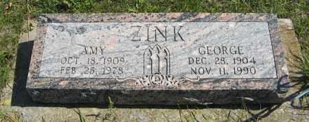 ZINK, AMY - Cedar County, Nebraska | AMY ZINK - Nebraska Gravestone Photos