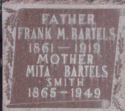 BARTELS, FRANK MANNING - Chase County, Nebraska | FRANK MANNING BARTELS - Nebraska Gravestone Photos