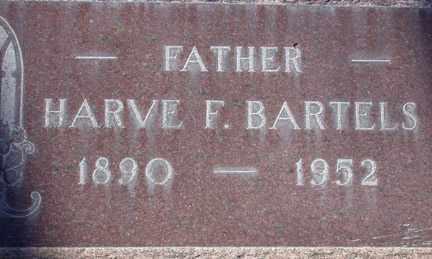 BARTELS, HARVIE FLOYD - Chase County, Nebraska   HARVIE FLOYD BARTELS - Nebraska Gravestone Photos