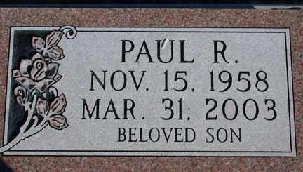 BARTELS, PAUL ROBERT - Chase County, Nebraska | PAUL ROBERT BARTELS - Nebraska Gravestone Photos