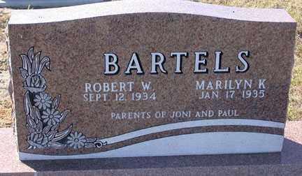 BARTELS, MARILYN K. - Chase County, Nebraska | MARILYN K. BARTELS - Nebraska Gravestone Photos
