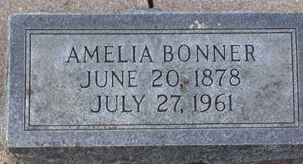 PETERSON BONNER, AMELIA - Chase County, Nebraska   AMELIA PETERSON BONNER - Nebraska Gravestone Photos