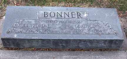BONNER, CLIFFORD ELSWORTH - Chase County, Nebraska | CLIFFORD ELSWORTH BONNER - Nebraska Gravestone Photos