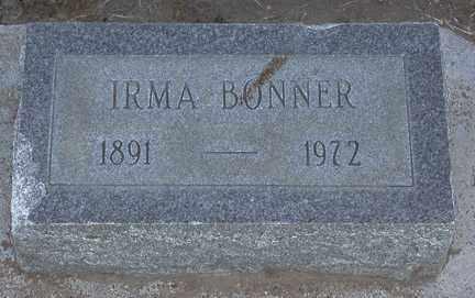 SALSMAN BONNER, IRMA - Chase County, Nebraska | IRMA SALSMAN BONNER - Nebraska Gravestone Photos