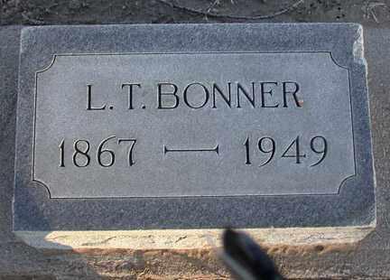 BONNER, LEONARD TECUMSEH - Chase County, Nebraska | LEONARD TECUMSEH BONNER - Nebraska Gravestone Photos