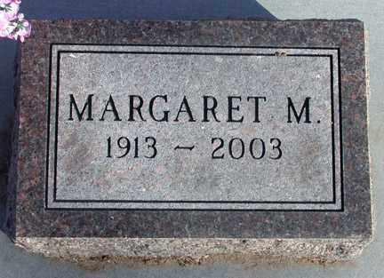 BONNER, MARGARET M. - Chase County, Nebraska   MARGARET M. BONNER - Nebraska Gravestone Photos