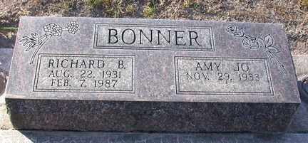 BONNER, RICHARD B. - Chase County, Nebraska | RICHARD B. BONNER - Nebraska Gravestone Photos