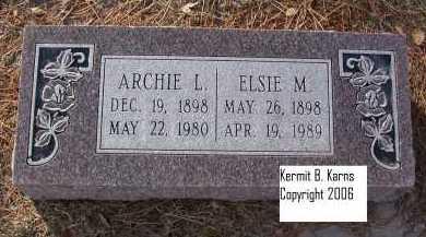 COUNCE, ELSIE M. - Chase County, Nebraska | ELSIE M. COUNCE - Nebraska Gravestone Photos