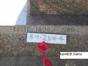 COUNCE, ELSIE MARGARET - Chase County, Nebraska | ELSIE MARGARET COUNCE - Nebraska Gravestone Photos