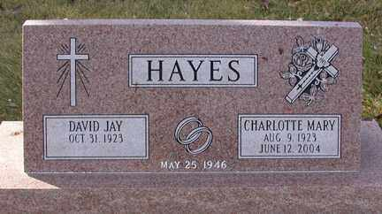 O'NEIL HAYES, CHARLOTTE MARY - Chase County, Nebraska | CHARLOTTE MARY O'NEIL HAYES - Nebraska Gravestone Photos