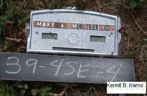 MCCLELLAN, MARY ALICE - Chase County, Nebraska   MARY ALICE MCCLELLAN - Nebraska Gravestone Photos