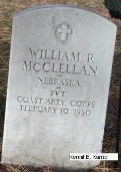 MCCLELLAN, WILLIAM RAY - Chase County, Nebraska | WILLIAM RAY MCCLELLAN - Nebraska Gravestone Photos