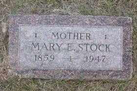 RETTER STOCK, MARY ELLEN - Chase County, Nebraska | MARY ELLEN RETTER STOCK - Nebraska Gravestone Photos
