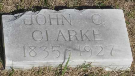 CLARKE, JOHN C. - Cherry County, Nebraska | JOHN C. CLARKE - Nebraska Gravestone Photos