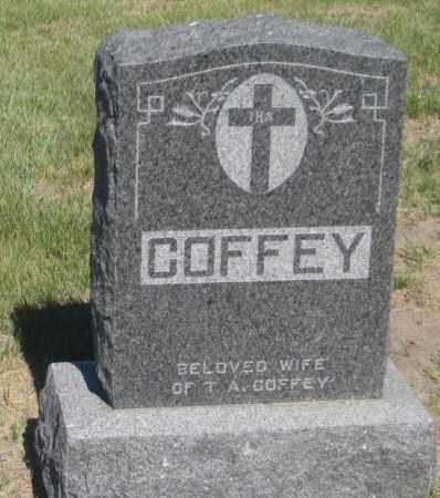 COFFEY, FAMILY STONE - Cherry County, Nebraska   FAMILY STONE COFFEY - Nebraska Gravestone Photos