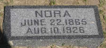 COFFEY, NORA - Cherry County, Nebraska | NORA COFFEY - Nebraska Gravestone Photos